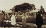 Baptist Church & graveyard c 1912 (Peter Searle)