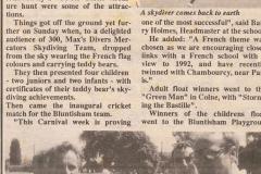 Colne & Bluntisham Carnival Week, 1989 (Elaine Gebbie)