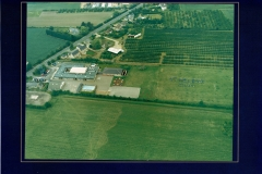 St Helen's School aerial photo, 2001 (Elaine Gebbie)