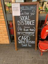 Social Distancing Instructions