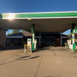 Empty Forecourt 7.40 am  April 22nd