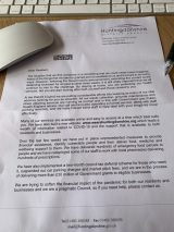 HDC Letter April 25th 2020