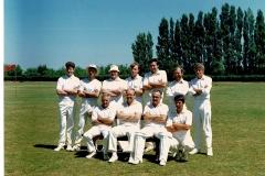 Bluntisham Cricket Club, 1986