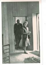 Duke and Duchess arrive at Bluntisham Station