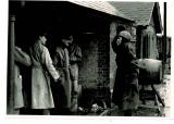 Officers at Bluntisham Station 1947
