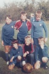 Bluntisham School Football Team - about 1981