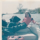 Lazy days on the river - 1976