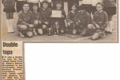 St Helen's School are netball winners (Elaine Gebbie)