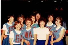 Bluntisham Ladies Netball Team (Jean Dench)