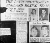 Boxing - famous Laud brothers - provided by Malcolm O'Neil