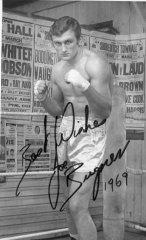 Joe Bugner - signed photo taken in 1969 - provided by Tim Rose