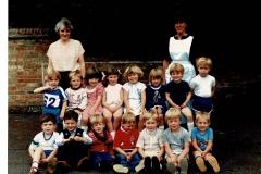 Bluntisham playgroup - Jean &?