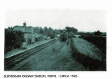 Bluntisham Station 1926