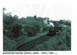 Arrival at Bluntisham 1954