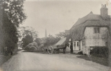 The Prince of Wales Pub, taken in roughly 1900, complete with visitors,
