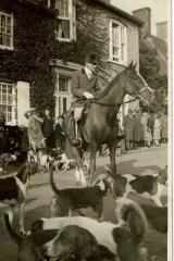 Hunting at Block Hill 1930  John Mehew
