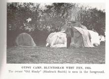Gypsy Camp with Old Shady Smith 1924