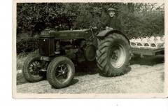 Sid-Ward, Fruit Farmer, taken in 1954  in Wood End.  (Norman Gill)