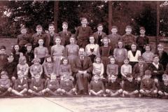 Bluntisham School photo 1952 (Norman Gill)