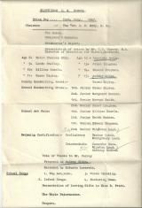 Bluntisham School Prize Day 1957