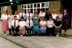 St Helens Staff 1995 (Sylvia Waterworth)